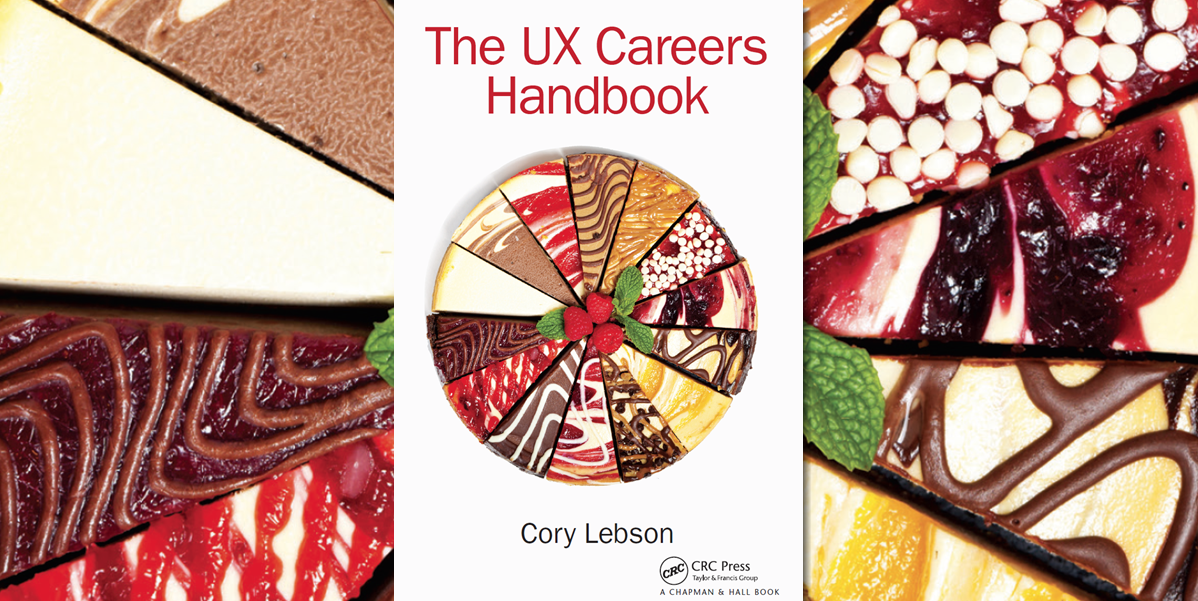 Book cover with a full cheesecake made up of a variety of flavors
